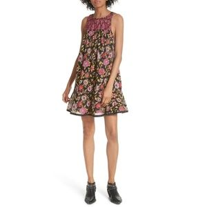 Free People | Oh Baby Cotton Printed Dress M